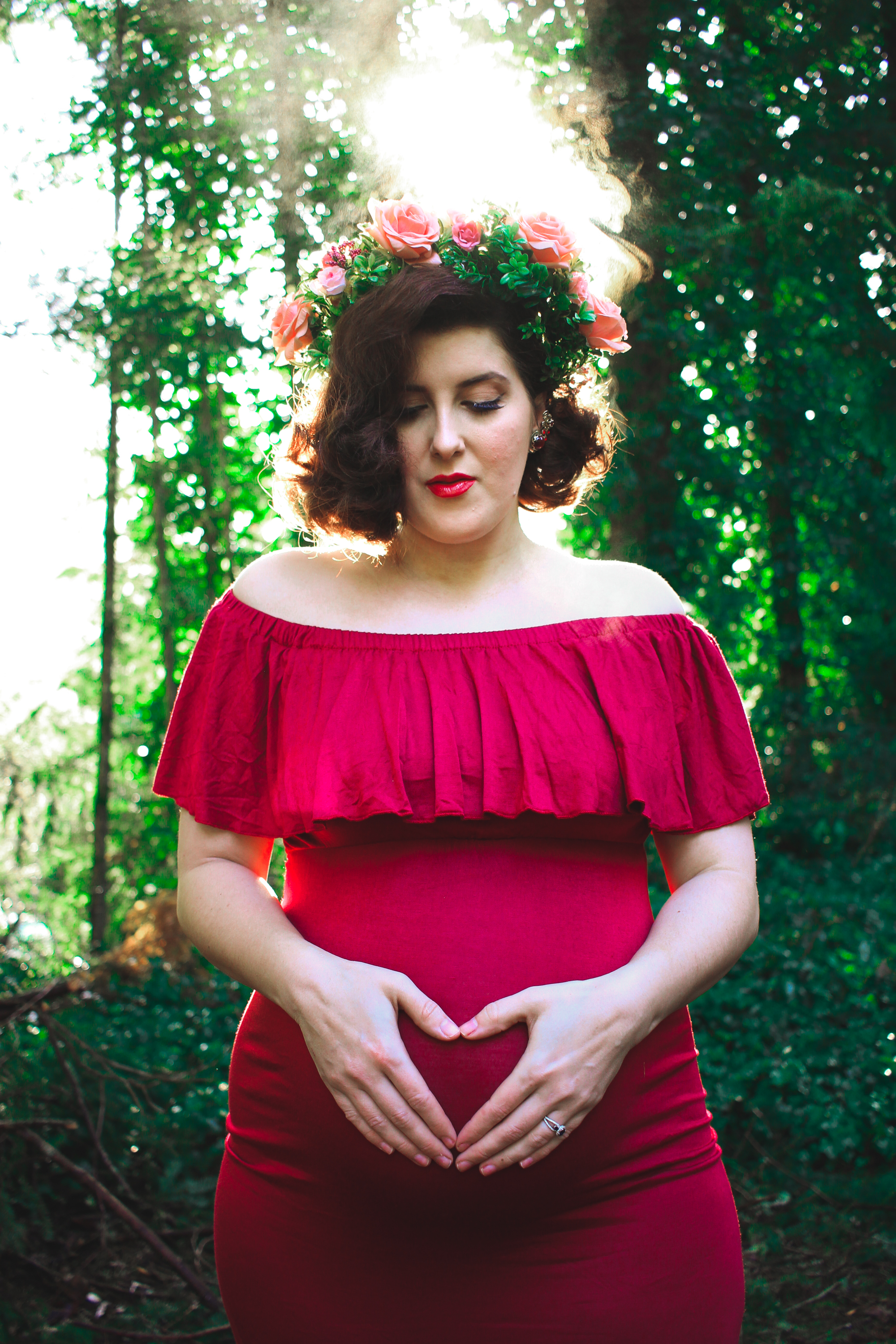 Vintage Maternity Photos | eyreeffect.com