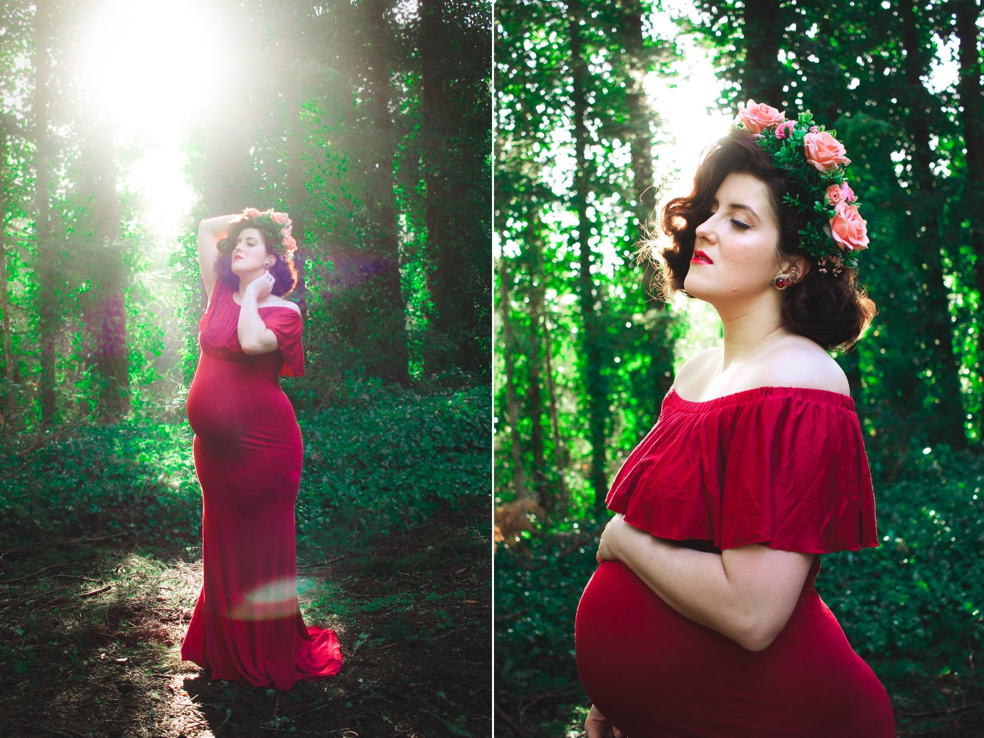 Vintage Maternity Photos | eyreeffect.com