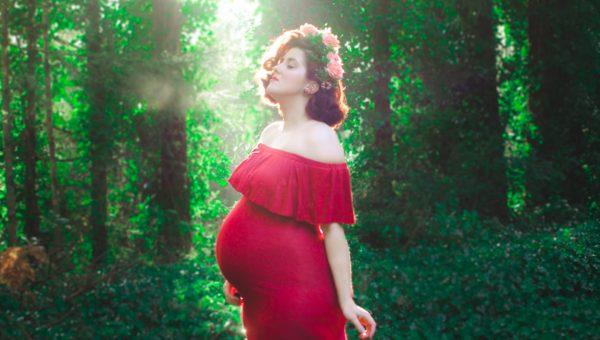 Vintage Maternity Photos